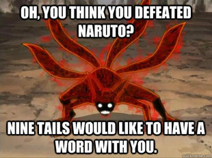 OHH, SO U THINK U DEFEATED NARUTO 0_0